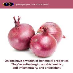 Get away a number of diseases by choosing organic onions! #healthyeating #healthyliving