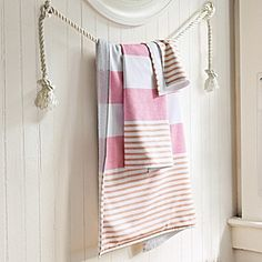 Fouta Bath Towels – Juice | Serena & Lily My favorite color combo. Yummy.