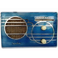 Sparton Model 500C 'Cloisonné' Catalin Radio, This one is for sale for an absurd price. I have this one and a yellow one.