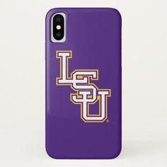 LSU   Baseball iPhone X Case #lsu #louisiana #state #university #tigers #iPhoneXCase. International shipping. #phonecases #iphonecases Lsu Merchandise, Lsu Gear, Louisiana State University, University College, Personalized Phone Cases, Lsu Tigers, New Students, Age, School Spirit