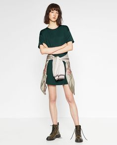 Image 1 of FULL DRESS WITH POCKETS from Zara