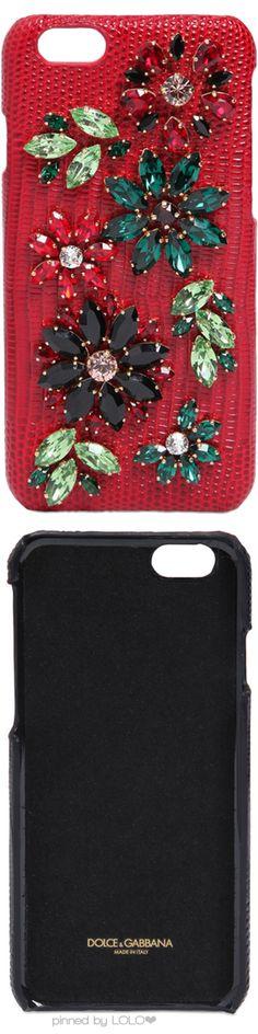 Dolce & Gabbana Embellished Crystal iPhone Case | LOLO❤︎