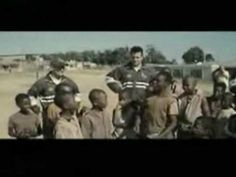 """Clint Eastwood's film """"Invictus"""" tells the story of newly-elected South African President Nelson Mandela and how he united South Africans, black and white, b. South African Rugby, African Symbols, Morgan Freeman, Rugby World Cup, Nelson Mandela, Africans, Clint Eastwood, Small World, 21st Century"""