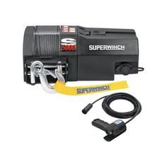 Superwinch S-Series 12 Volt Winch — 5000-Lb. Capacity, Model# S5000