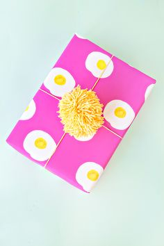 Sunny Side Up! Wrapping Paper - Free Printable