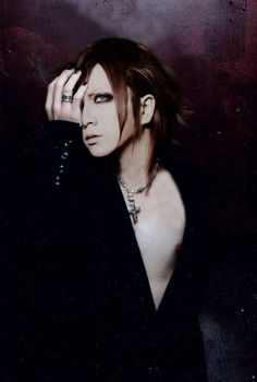 Takanori Matsumoto (aka, RUKI. Of, the GazettE) Damn! ♡ω♡ (although, I thought he said he didn't like showing his chest? Oh well, he's still sexy as ever! *wink, wink*)