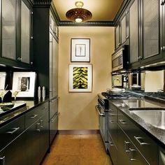 Mirrored backsplash - Traditional Kitchen by Arthur Dunnam