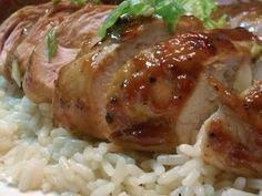 Κοτόπουλο Μαριναρισμένο με Βαλσάμικο & Μέλι - Chicken Marinated with Balsamic Vinegar & Honey Cookbook Recipes, Meat Recipes, Food Processor Recipes, Chicken Recipes, Cooking Recipes, Vinegar And Honey, Balsamic Vinegar, Marinated Chicken, How To Cook Chicken