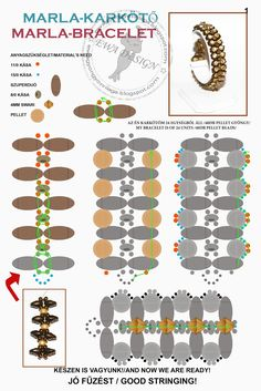 SuperDuo and crystal bracelet Beading Patterns Free, Beaded Bracelet Patterns, Free Pattern, Bead Patterns, Jewelry Making Tutorials, Beading Tutorials, Super Duo Beads, Twin Beads, Beading Techniques