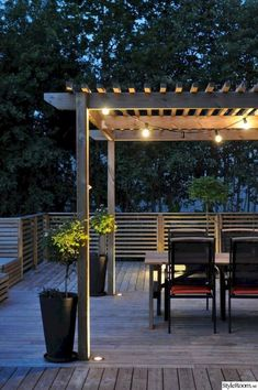 Examples of Backyard Pergolas That Cure Analysis-Paralysis Check out these 15 perfect pergola ideas.Check out these 15 perfect pergola ideas. Diy Pergola, Building A Pergola, Pergola Canopy, Deck With Pergola, Outdoor Pergola, Pergola Lighting, Wooden Pergola, Pergola Plans, Outdoor Lighting