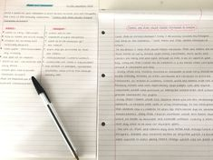 half way though writing this and it's due soon oops :) School Organization Notes, Study Organization, College Notes, School Notes, Pretty Notes, Good Notes, School Motivation, Study Motivation, Pretty Handwriting