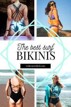 The best surf bikinis for girls who rip. #surfbikinis #kitesurfbikinis #bikinis #kitesurf #surf