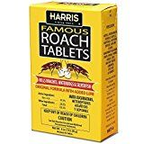 Harris Famous Roach & Silverfish Killer Tablets Treats a Minimum of 8 Rooms 95 Tablets Included Silverfish, Roaches, Blue Garden, Compost, Rooms, Treats, Bedrooms, Sweet Like Candy, Goodies