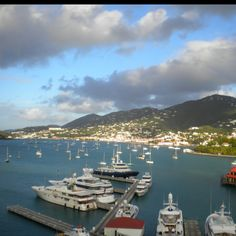 Magnificent View at Port in St.Thomas