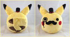 Fancy Pikachu Plush by *LiLMoon on deviantART