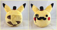 Fancy Pikachu Plush by *LiLMoon on deviantART