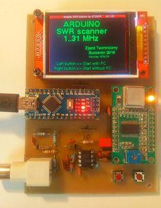 Arduino SWR scanner