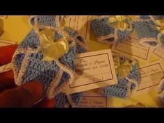 Lembrancinhas de Maternidade de Crochê - YouTube