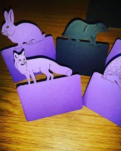 New place names part 1! #jld #new #weddingdecor #placecards #placenames #weddinginspiration #weddingdetails #wedding #weddingseason #etsy #instagram #cool #etsygifts #etsyshop #etsyseller #badgers #foxy #fox #rabbit #rabbitsofinstagram