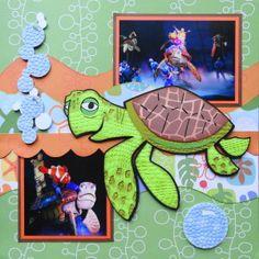 Me and My Cricut | Disney Scrapbook 20-Disney Animal Kingdom | http://meandmycricut.com