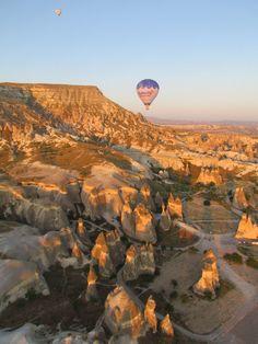 Hot Air Ballooning, Ürgüp, Turkey.