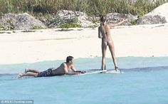Gisele and Tom Stay Fit Paddleboarding - I never expected paddleboarding being such a great exercise!