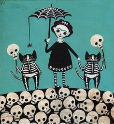 *•. Frida and the Death Cats .• *