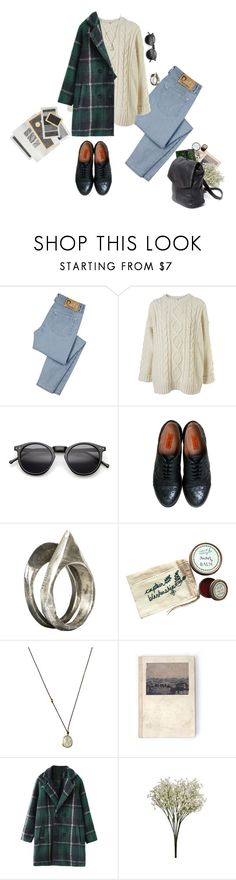 """""""Wintergreen"""" by katrose3 ❤ liked on Polyvore featuring D&G, Miz Mooz, Unearthen, Captain Blankenship and Solow"""