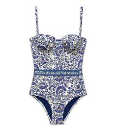 history is bound to repeat itself, as seen in this mid 20th century inspired piece from Tory Burch. --Tory Burch MADURA ONE-PIECE