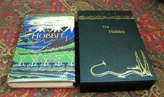 The Hobbit, or There and Back Again, 1956 8th Impression with Dustjacket