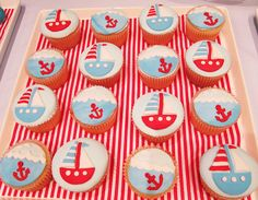 #nautical if any of my friends get pregnant with a boy this would be a precious party theme