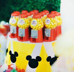 Dazzling Mickey & Minnie Circus Birthday Party