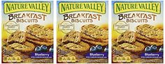 Nature Valley Breakfast Biscuits Blueberry 885oz Box Pack of 3 >>> Click image to review more details. Note: It's an affiliate link to Amazon.