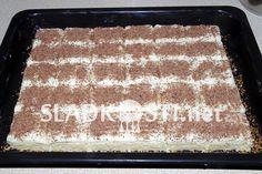Ananasové řezy s tvarohovým krémem – Hančiny Sladkosti.net Tiramisu, Ethnic Recipes, Food, Pineapple, Essen, Meals, Tiramisu Cake, Yemek, Eten