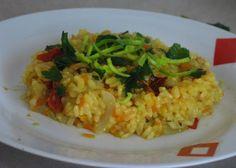 Fotorecept: Mrkvové rizoto so sušenými paradajkami