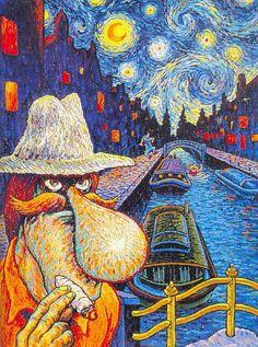 Vincent van gogh comic book