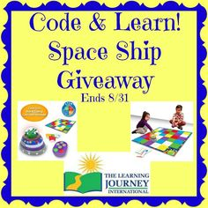 Code & Learn! Space Ship Giveaway
