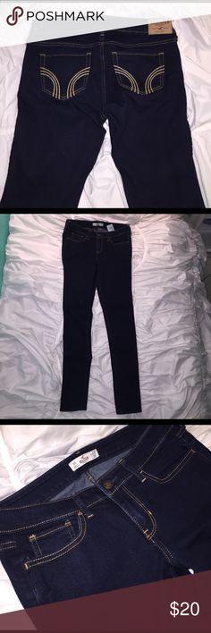 Hollister dark jeans Dark wash Hollister Jeans Skinny