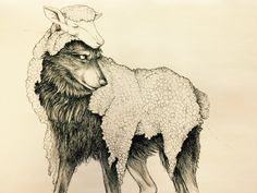 Wolf in Sheep's Skin by Foxleopard on DeviantArt