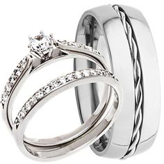 Gemmart Infinity Shape Ring Silver sterling silver engagement ring black fashion ring