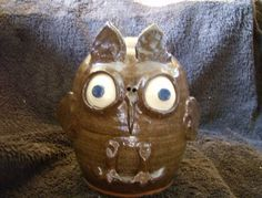 Owl Face Jug. So very Cute! | eBay