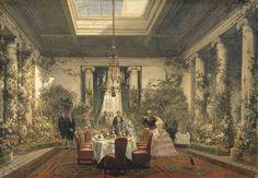 salle à manger princesse Mathilde rue de Courcelles