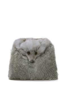 $12.88 Fox Faux Fur Chains Crossbody Bag