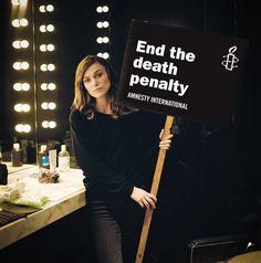 Amnesty International UK  #KeiraKnightley