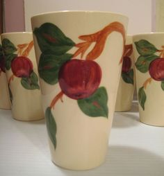 Franciscan Apple 10 oz. Tumbler from White Rose Antiques on the Lane
