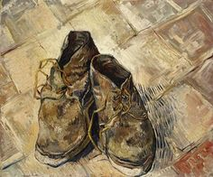 Van Gogh, Shoes, 1888