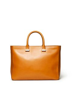 Style.com Accessories Index : fall 2012 : The Row | camel tote