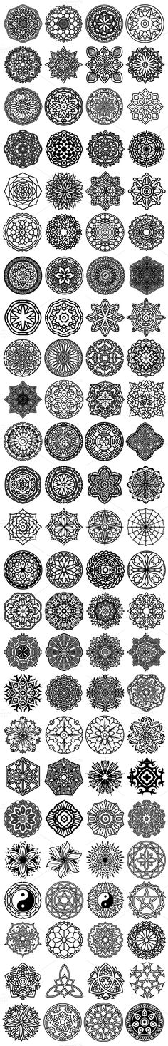 new Ideas tattoo mandala design drawings zentangle patterns Mandala Design, Mandala Art, Lotus Mandala, Mandala Symbols, Mandala Drawing, Henna Mandala, Dotwork Tattoo Mandala, Tattoo Henna, Tattoo Ribs