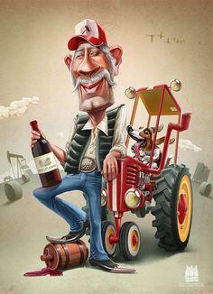 Redneck Character #character