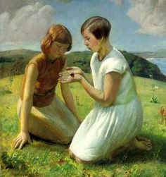 Harold Harvey; Newlyn School artist